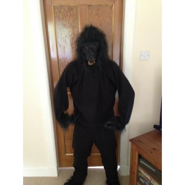 Gorilla Ape Monkey Mascot Adult Mascot/Costume Fancy Dress